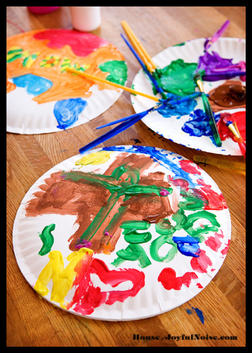 kids-crafts-paper-plate-painting