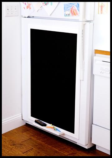 refrigerator-chalkboard