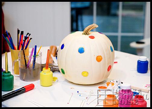 polka-dot-pumpkin