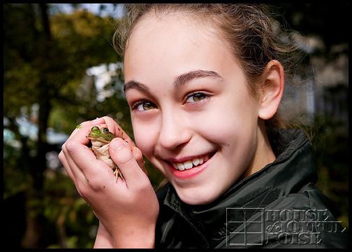 girl-and-her-bullfrog