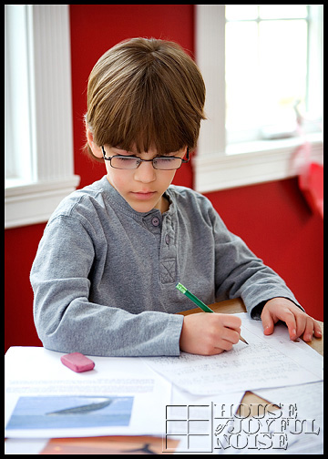 elementary homeschooling writing skills development