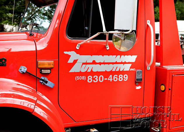 truck lettering Plymouth MA