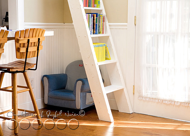 ladder book shelf
