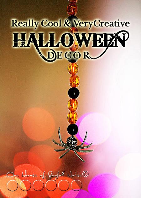creative Halloween decor