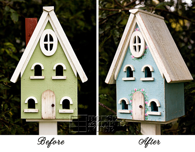 001_hand-painted-birdhouse-before-after