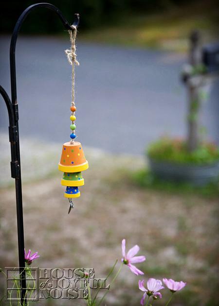 terracotta-flower-pot-wind-chime-craft