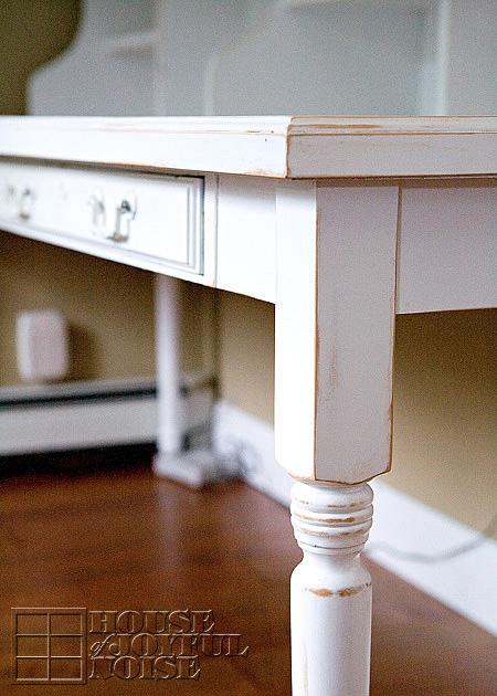 Custom Built Farmhouse Home Office Desk 1