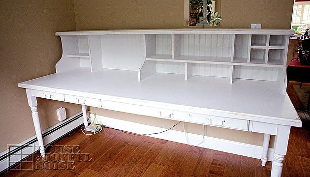 Custom Built Office Desk