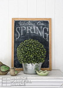March | St.Patrick's Day | Spring Mantels Decor-2015