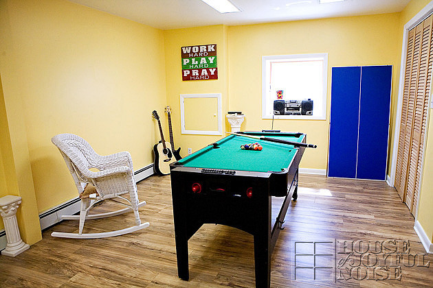 family recreation room
