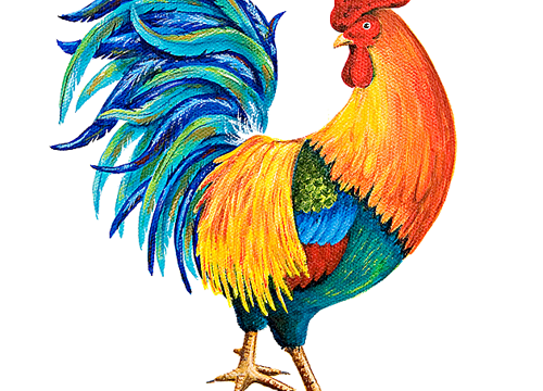 Details About the New House of Joyful Noise Rooster