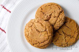 Olivia's Scrumptious Ginger Cookies | Printable Recipe