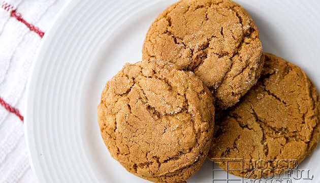 Olivia's Scrumptious Ginger Cookies | Printable Recipe