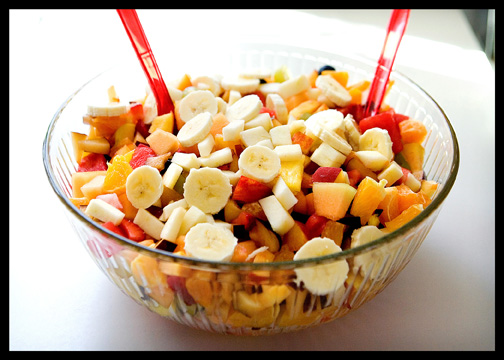 Catholic Pentecost Sunday 12 fruit salad