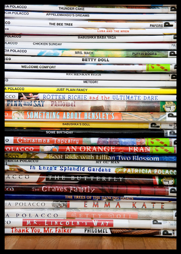 pile-of-elementary-library-books-close-up
