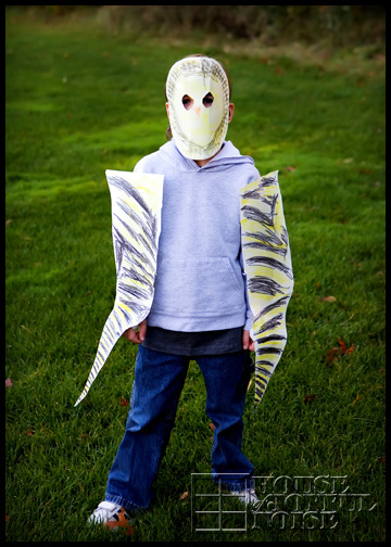 gold-finch-paper-costume-kid-craft