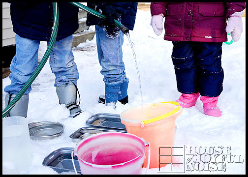 colored-ice-castles-homeschooling-science-experiment