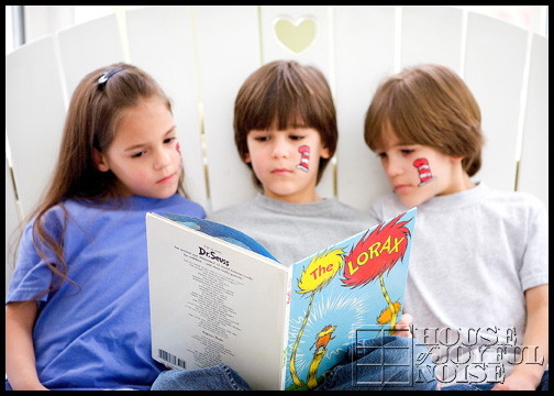 triplets-kids-reading-dr-seuss-book