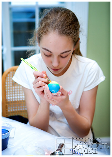 coloring-eggs