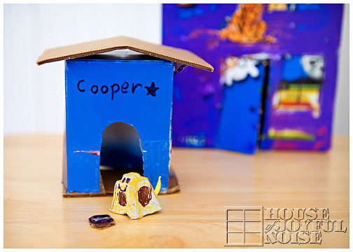 kid's cardboard creations ideas