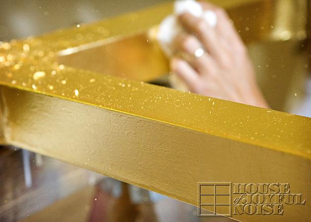 gold leafing gilding