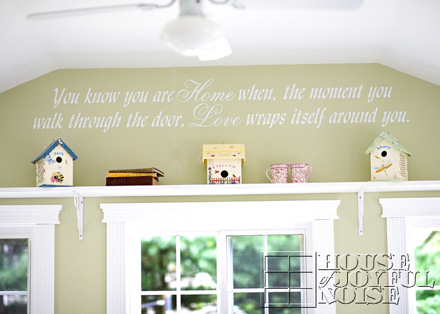 wall decor lettering