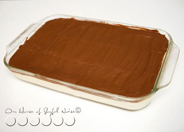 No- Bake Eclairs