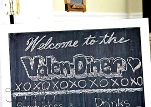 Valentine theme party idea