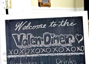 Valentine theme party idea