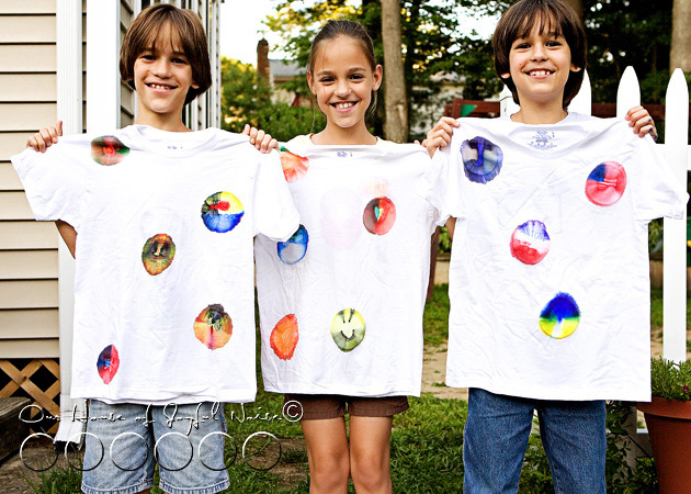 awesome fun t-shirt craft