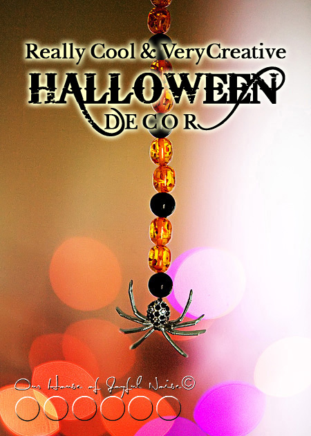 creative Halloween decor
