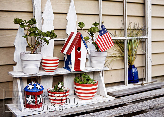 2_hand-painted-american-birdhouse-on-potting-bench