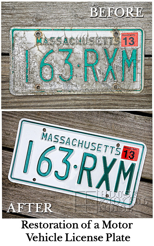 Motor vehicle license plate refurbishing before and after solutioingenieria Image collections