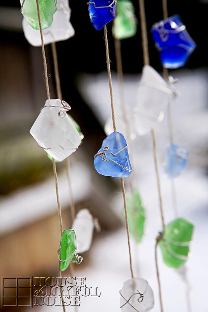 Sea Glass Wind Chime Archives, Sea Glass Wind Chimes Diy